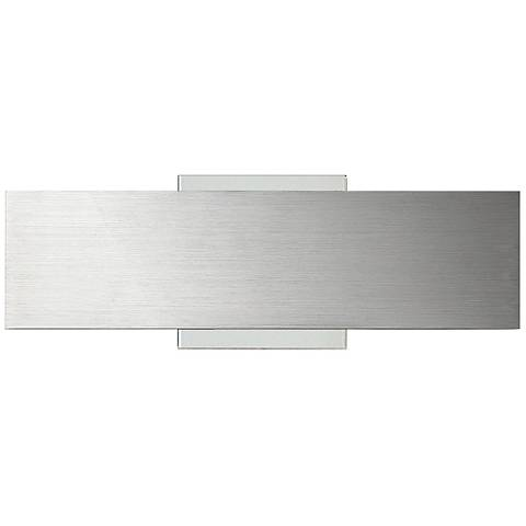 "Eurofase Expo 4"" High Aluminum Small LED Wall Sconce"