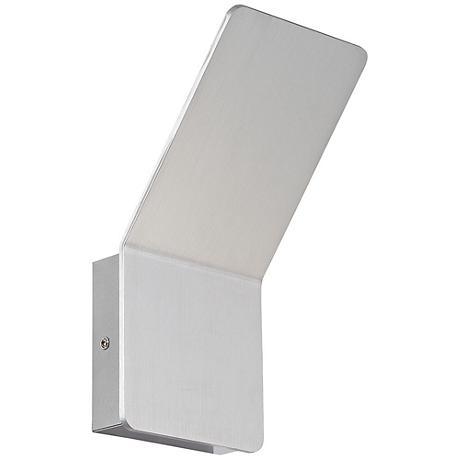 "Eurofase Delroy 9 1/2"" High Aluminum LED Wall Sconce"
