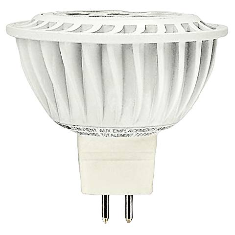 50W Equivalent 6.5W LED Dimmable GU 5.3 MR16 Bulb