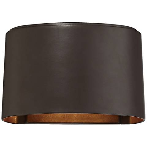 "Everton 4 3/4""H Bronze Dark Sky LED Outdoor Wall Light"