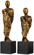 Uttermost Ruggiero 2-Piece Gold Sculptures Set