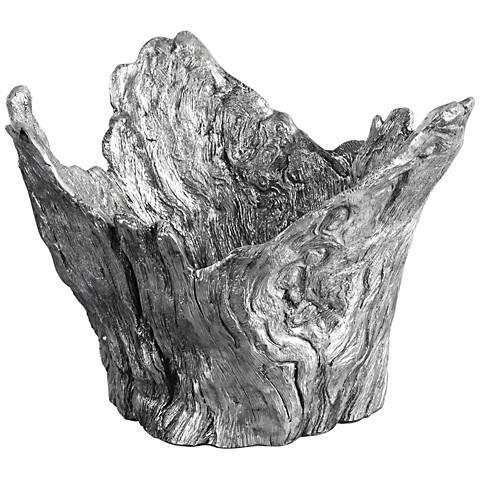 Uttermost Massimo Metallic Silver Decorative Bowl