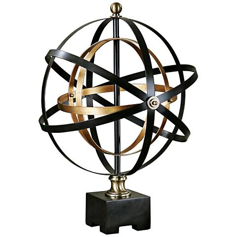 "Uttermost Rondure 24"" High Orbital Spheres Sculpture"