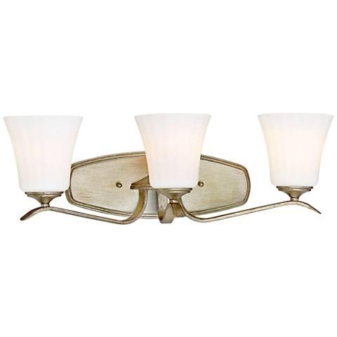 "Laurel Estate 24 1/4"" Wide Brio Gold 3-Light Bath Light"