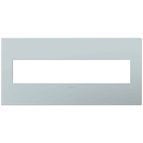 adorne® Pale Blue 5-Gang Snap-On Wall Plate