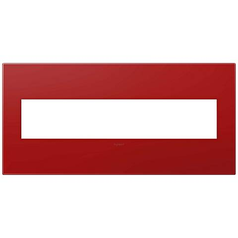 adorne® Cherry 5-Gang Snap-On Wall Plate