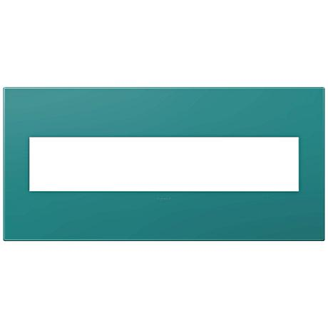 adorne® Turquoise 5-Gang Snap-On Wall Plate