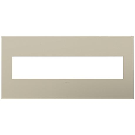 adorne® Titanium 5-Gang Snap-On Wall Plate