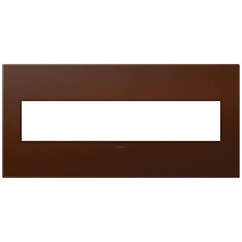 adorne® Russet Soft Touch 5-Gang Snap-On Wall Plate