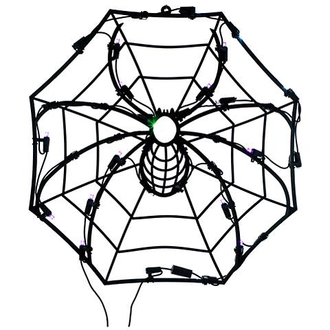 35-Light Spider Web Indoor/Outdoor Light Set