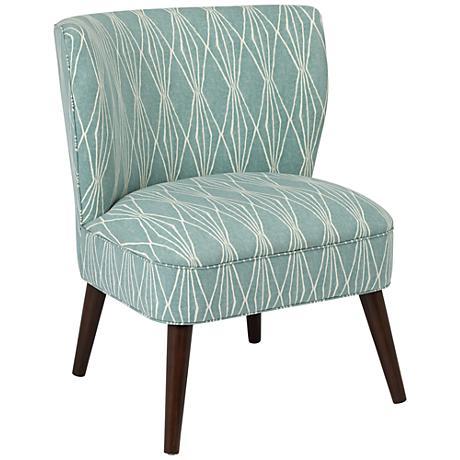 Ella Rain Armless Chair