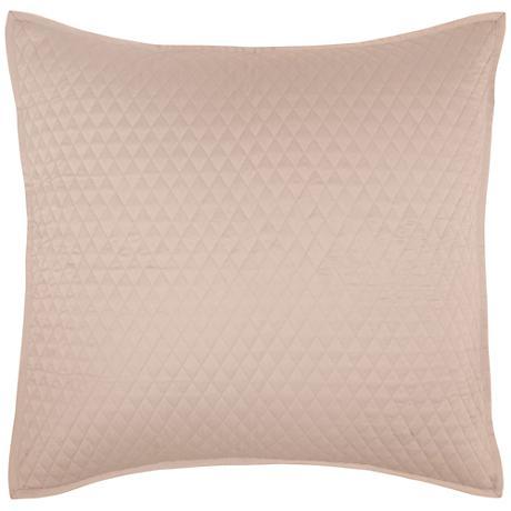 Diamond Pebble Euro Pillow Sham