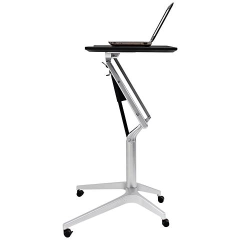 201 Black Workpad Stand Up Height Adjustable Laptop Desk