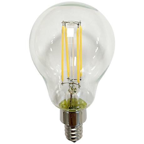 4.5 Watt A15 Candelabra Base LED Filament Light Bulb