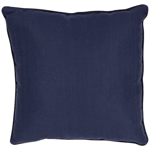 """Jaipur Veranda Insignia Blue 20"""" Indoor-Outdoor Pillow"""