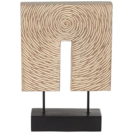 """Archimedes 13 1/2"""" High Contemporary Tabletop Sculpture"""