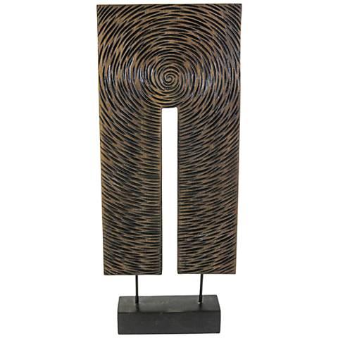 "Emor 23"" High Contemporary Tabletop Sculpture"