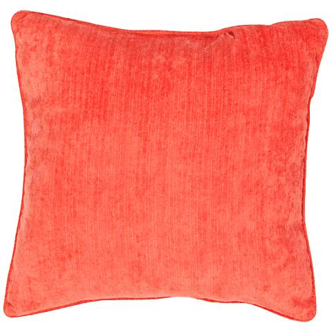 "Jaipur Veranda Tigerlily Red 20"" Indoor-Outdoor Pillow"