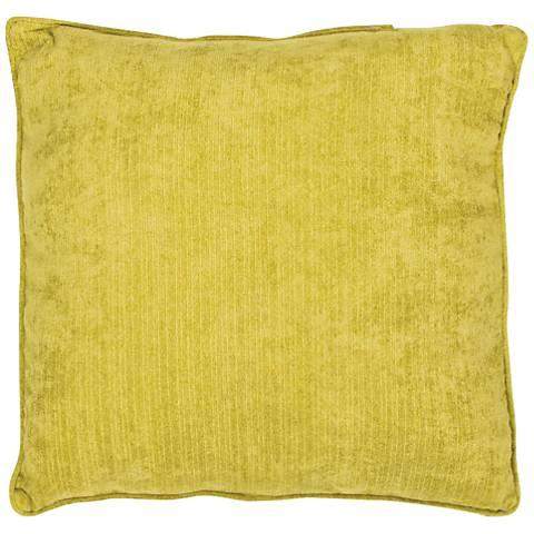 """Jaipur Veranda Antique Moss Yellow 20"""" Indoor-Outdoor Pillow"""