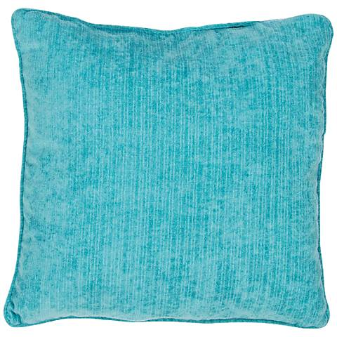 "Jaipur Veranda Baltic Blue 20"" Square Indoor-Outdoor Pillow"