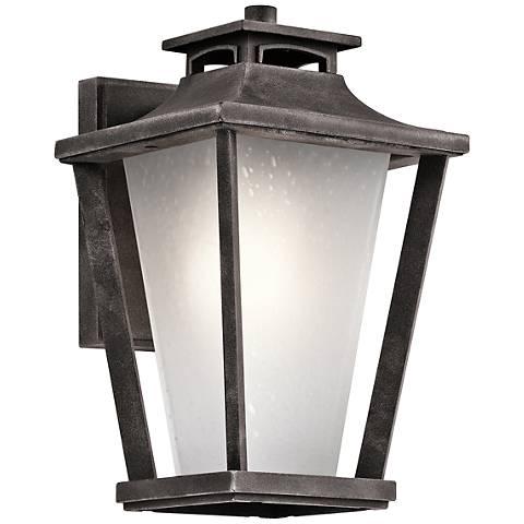"Kichler Sumner Court 11 3/4"" High Zinc Outdoor Wall Light"