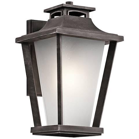 "Kichler Sumner Court 15"" High Zinc Outdoor Wall Light"