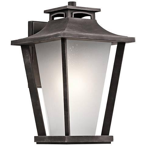 "Kichler Sumner Court 18 1/4"" High Zinc Outdoor Wall Light"