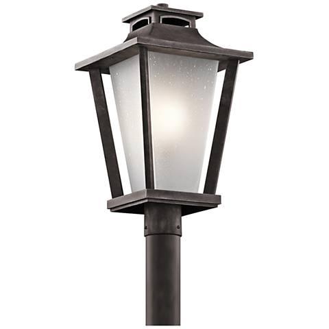 """Kichler Sumner Court 21"""" High Zinc Outdoor Post Light"""