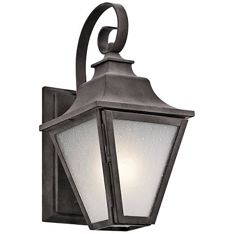 "Kichler Northview 13 1/4"" High Zinc Outdoor Wall Light"