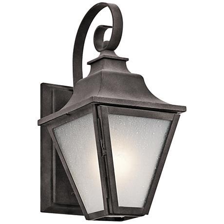 """Kichler Northview 13 1/4"""" High Zinc Outdoor Wall Light"""