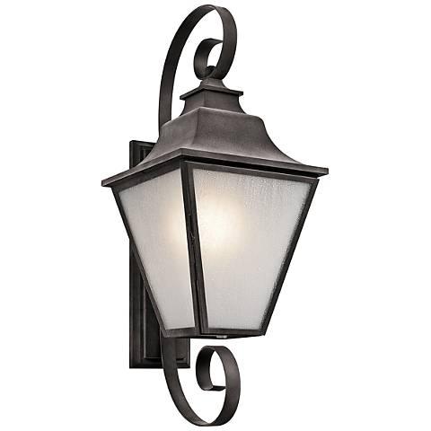 """Kichler Northview 31 3/4"""" High Zinc Outdoor Wall Light"""
