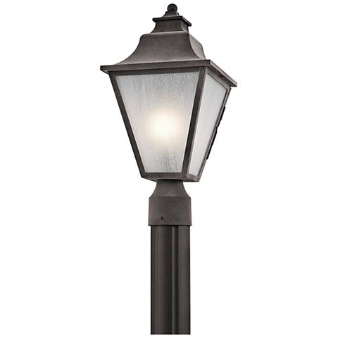 "Kichler Northview 17 1/2"" High Zinc Outdoor Post Light"