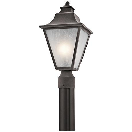 "Kichler Northview 17 1/2"" High Zinc Outdoor Post Light"