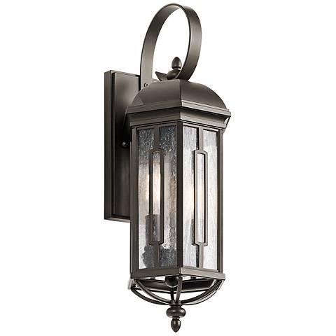 "Kichler Galemore 18"" High Olde Bronze Outdoor Wall Light"
