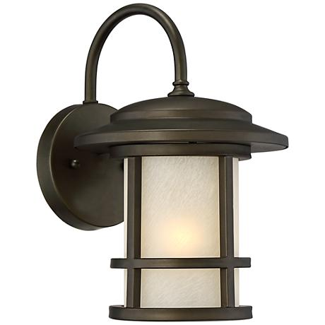"""Cressona 12"""" High Oil-Rubbed Bronze Outdoor Wall Light"""