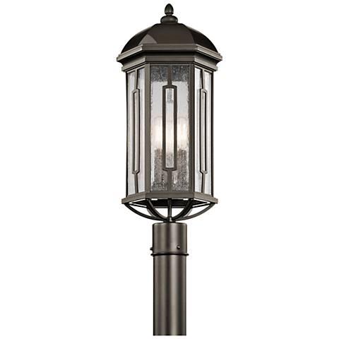 "Kichler Galemore 23"" High Olde Bronze Outdoor Post Light"