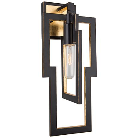 """Artcraft Capetown 16"""" High Oil Rubbed Bronze Wall Sconce"""