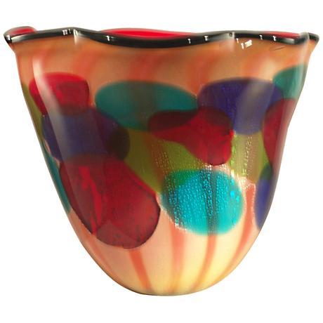 Dale Tiffany Celebration Art Glass Bowl