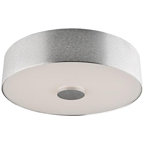 """Fantasia 11 3/4"""" Wide Brushed Aluminum LED Ceiling Light"""