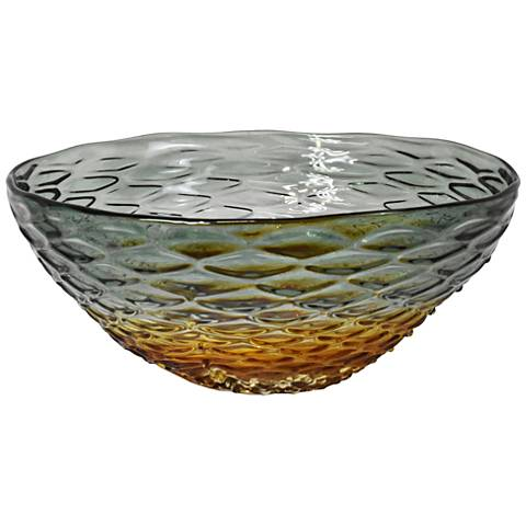 Dale Tiffany Alondra Park Multi-Color Art Glass Bowl