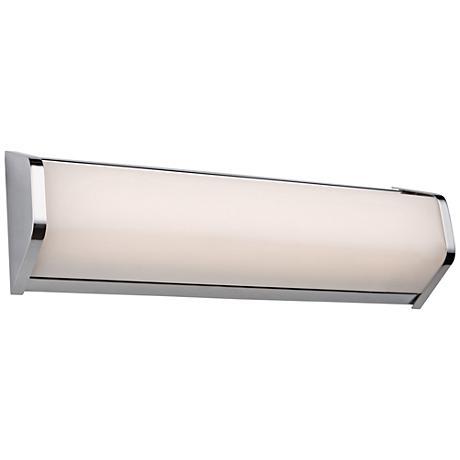 "Artcraft Crosby 18"" Wide Chrome LED Bath Light"