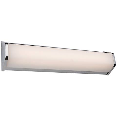 "Artcraft Crosby 23"" Wide Chrome LED Bath Light"