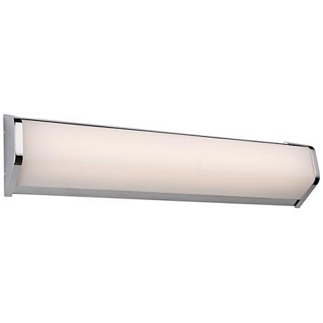 "Artcraft Crosby 23"" Wide Chrome LED Bath Light"