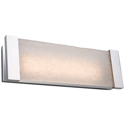 "Artcraft Barrett 18"" Wide Brushed Nickel LED Bath Light"