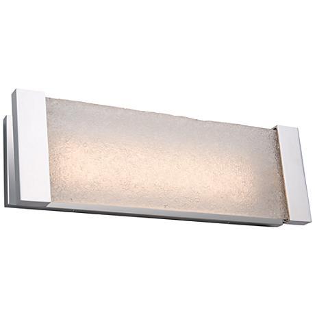"Artcraft Barrett 18"" Wide Brushed Nickel LED Bath Light"