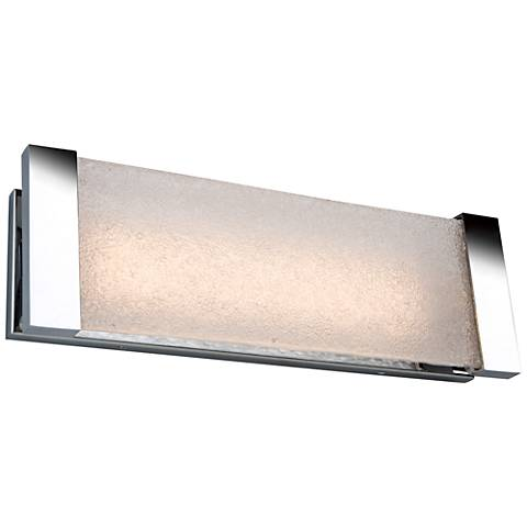 "Artcraft Barrett 18"" Wide Chrome LED Bath Light"