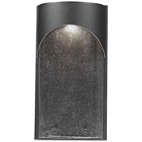 "Artcraft Westbrook 14"" High Black LED Wall Sconce"