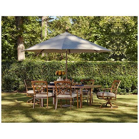 Trisha Yearwood 7-Piece Outdoor Dining Set with Umbrella