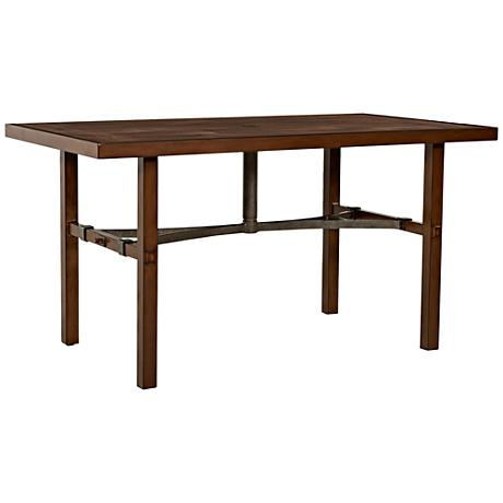 Klaussner Trisha Yearwood Coffee Outdoor Dining Table