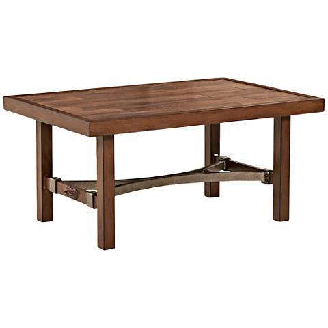Klaussner Trisha Yearwood Coffee Outdoor Coffee Table